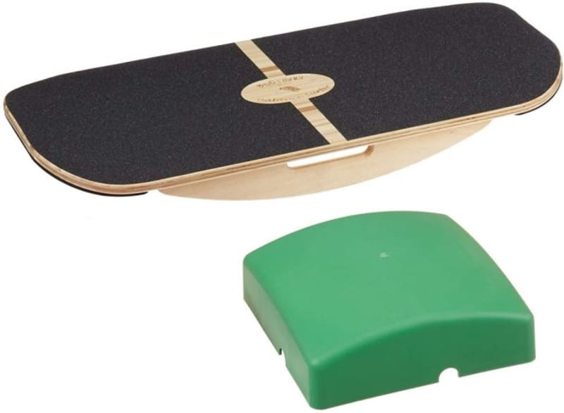 Blue Planet Balance Surfer Wooden Balance Board Trainer