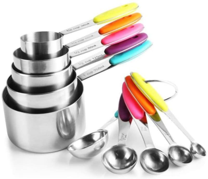 Measuring Cups and Spoons Set
