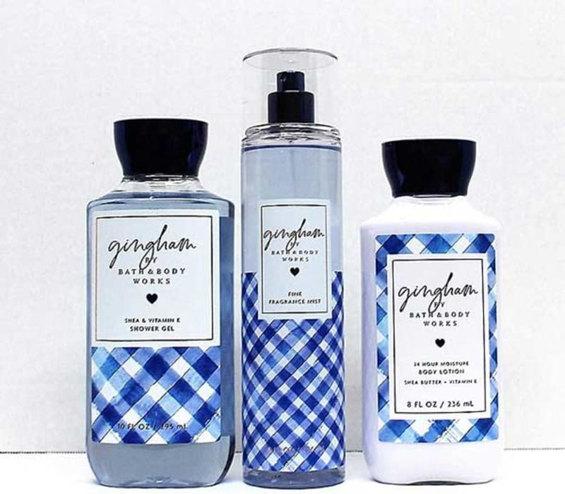 Bath-and-body-works-gingham-gift-set