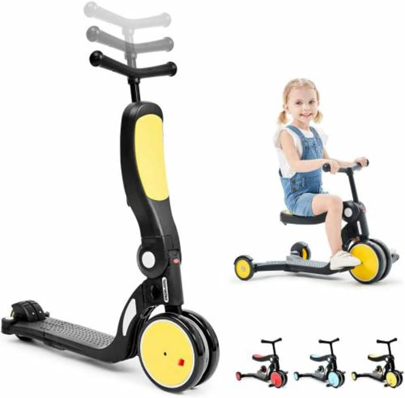 Kids Scooter Cum Tricycle