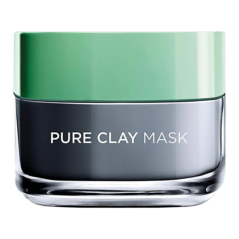 Loreal-Paris-Pure-Clay-Black-Face-Mask-with-Charcoal