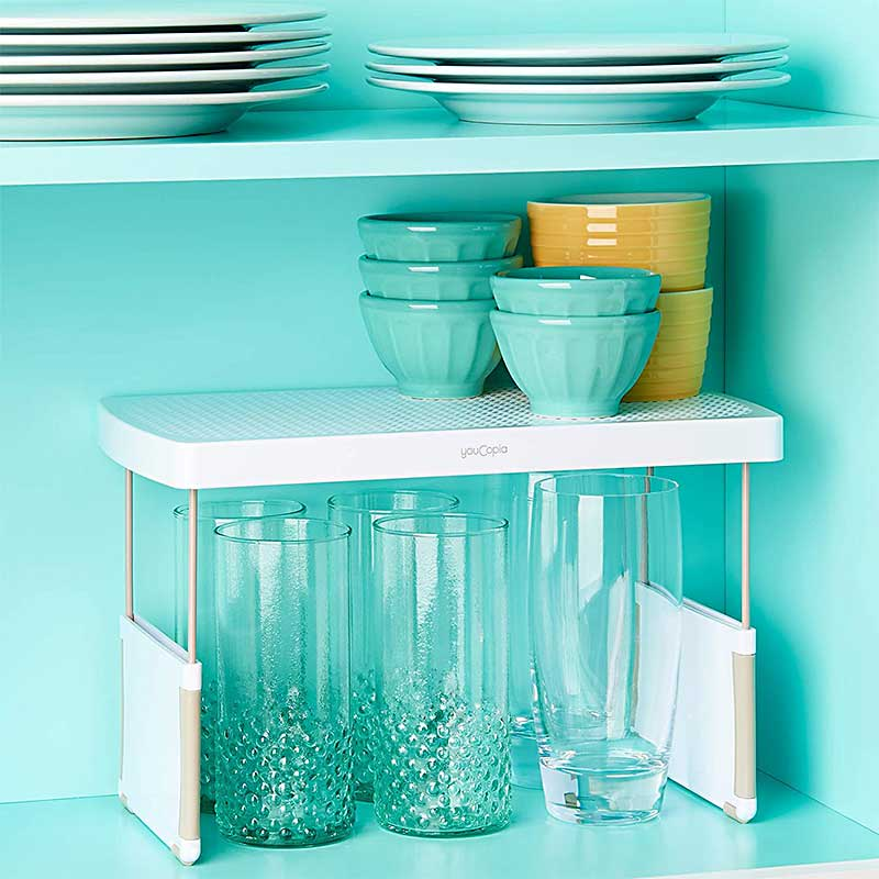 Kitchen-Cabinet-Shelf-Organizer