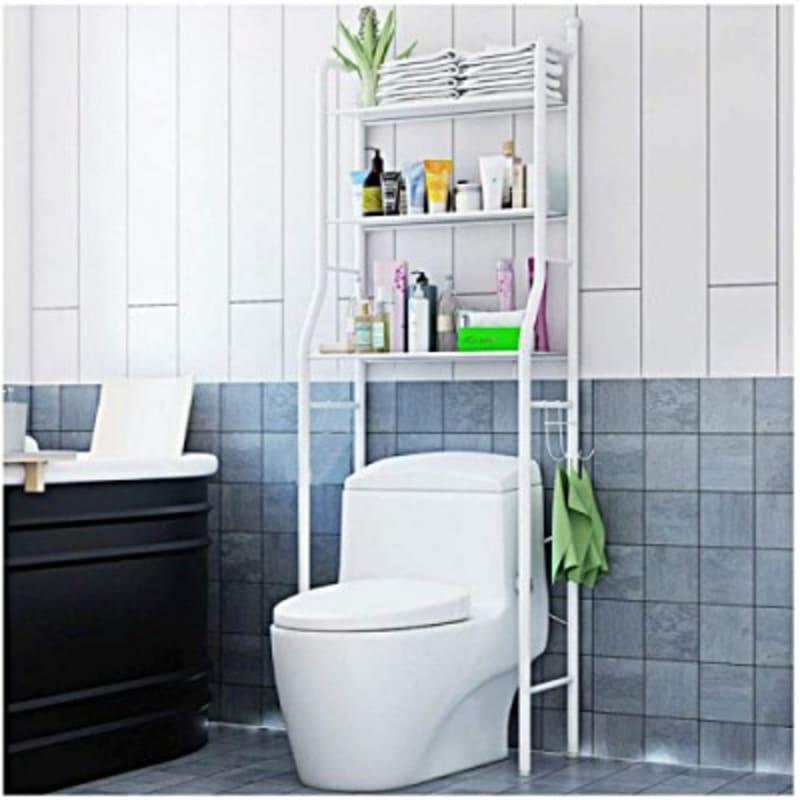 3 Shelf Over The Toilet Bathroom Shelf