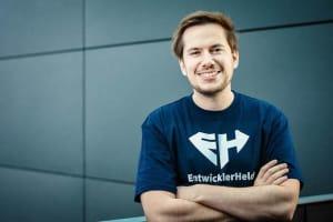 Philipp Dienst, Head of UX & Co-Founder of EntwicklerHeld