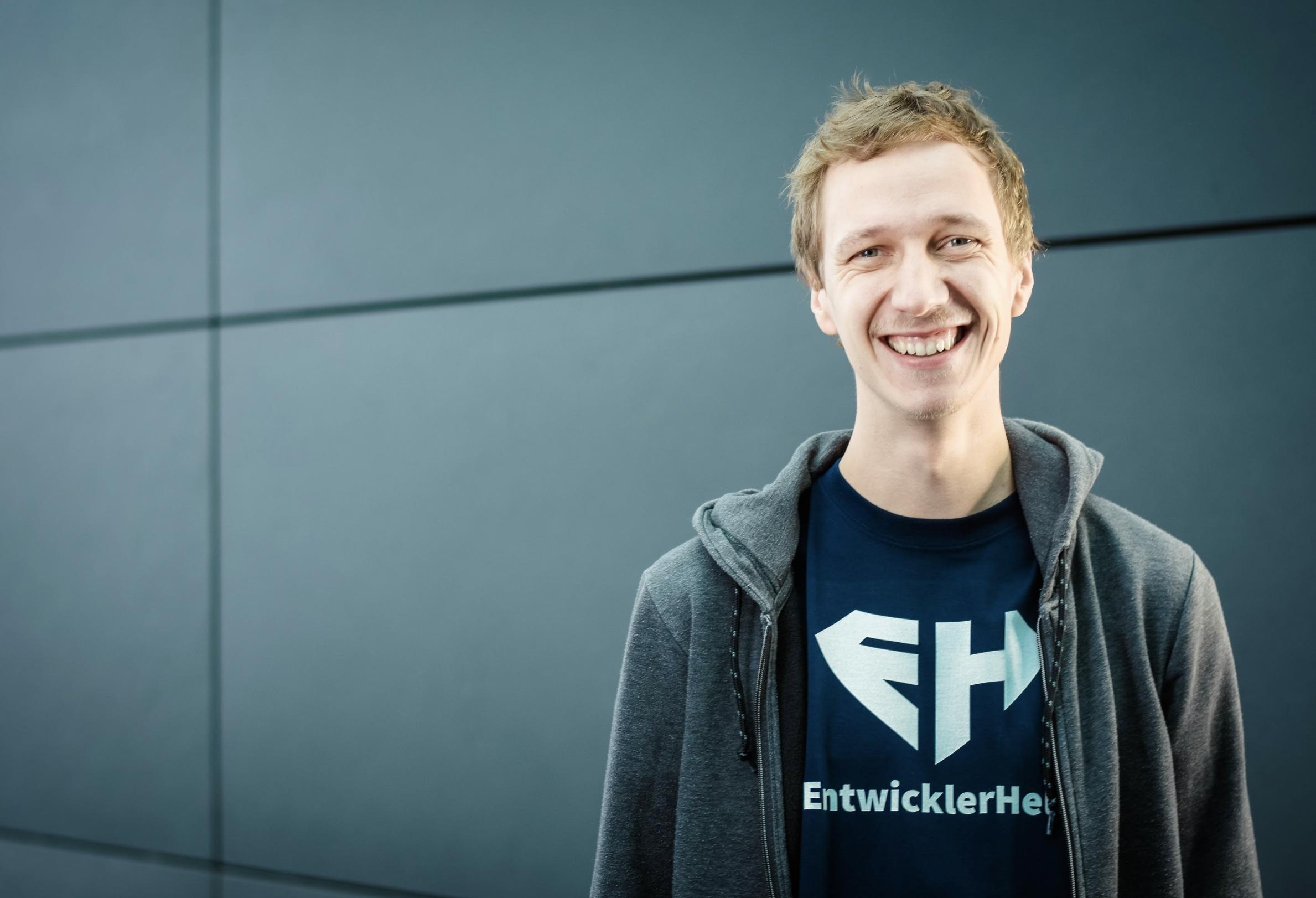 EntwicklerHeld Gründer Jakob Blume