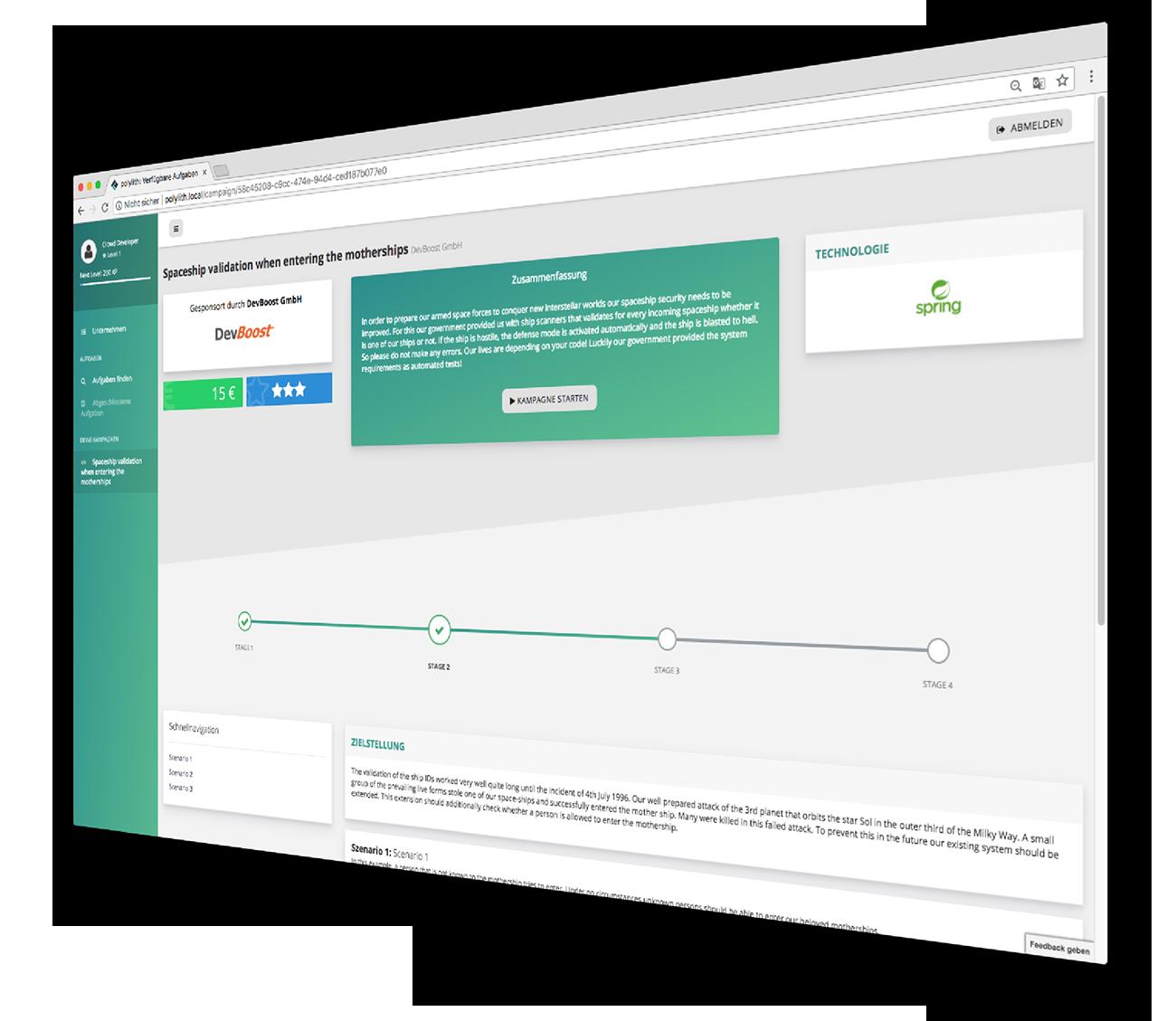 EntwicklerHeld Coding Platform