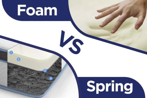 Foam  VS  Spring