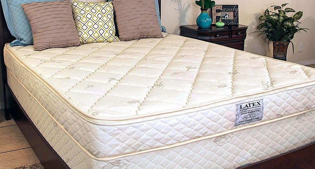 Sleep Ez Crib Natural Latex mattress