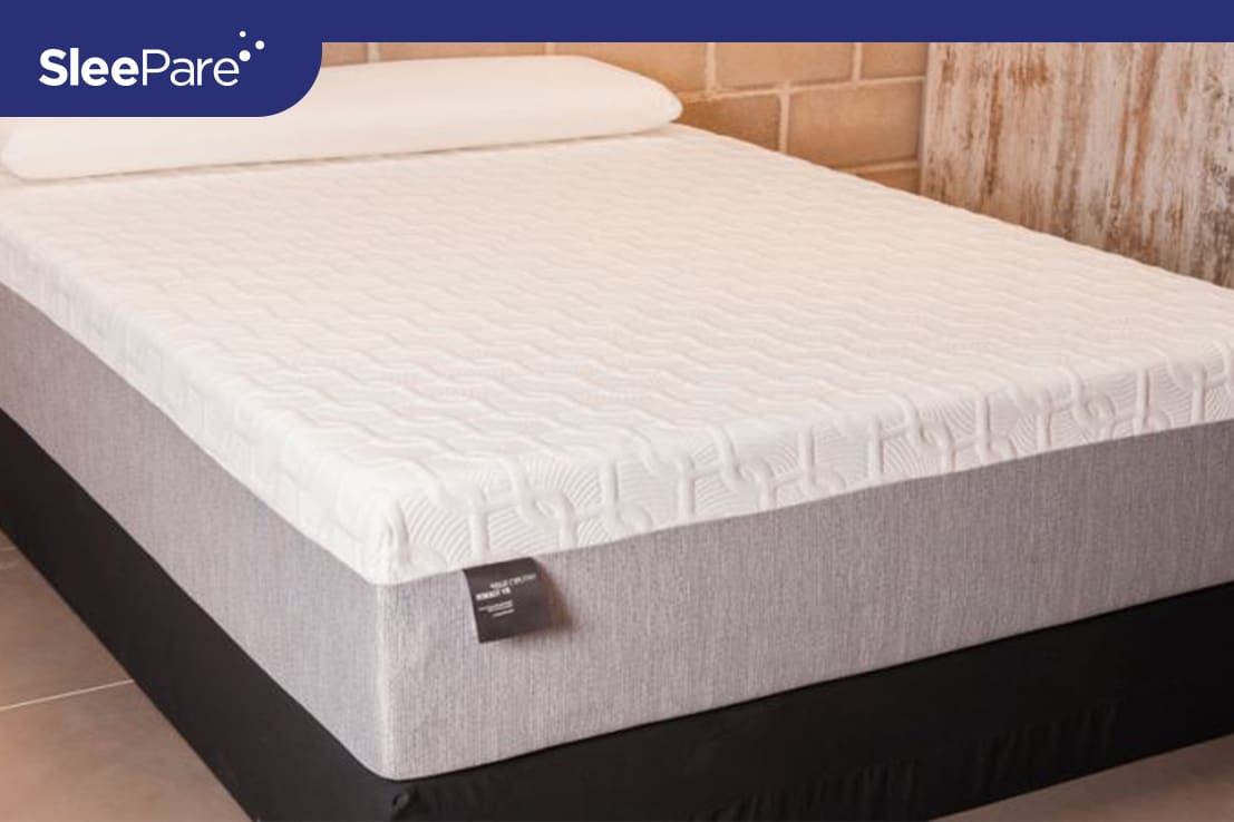 Nature's Sleep Dual Layer Ergonomic Gel Memory Foam
