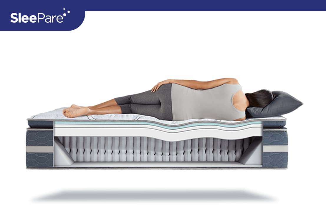 197a07be6b629 Serta Perfect Sleeper Luxury Hybrid Elmridge Super Pillow Top Mattress