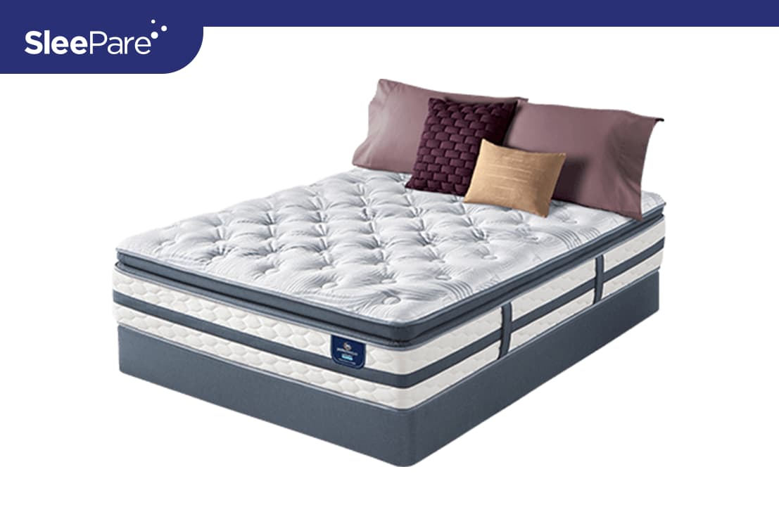 Real Deal On Serta Glenmoor Super Pillow Top Sleepare