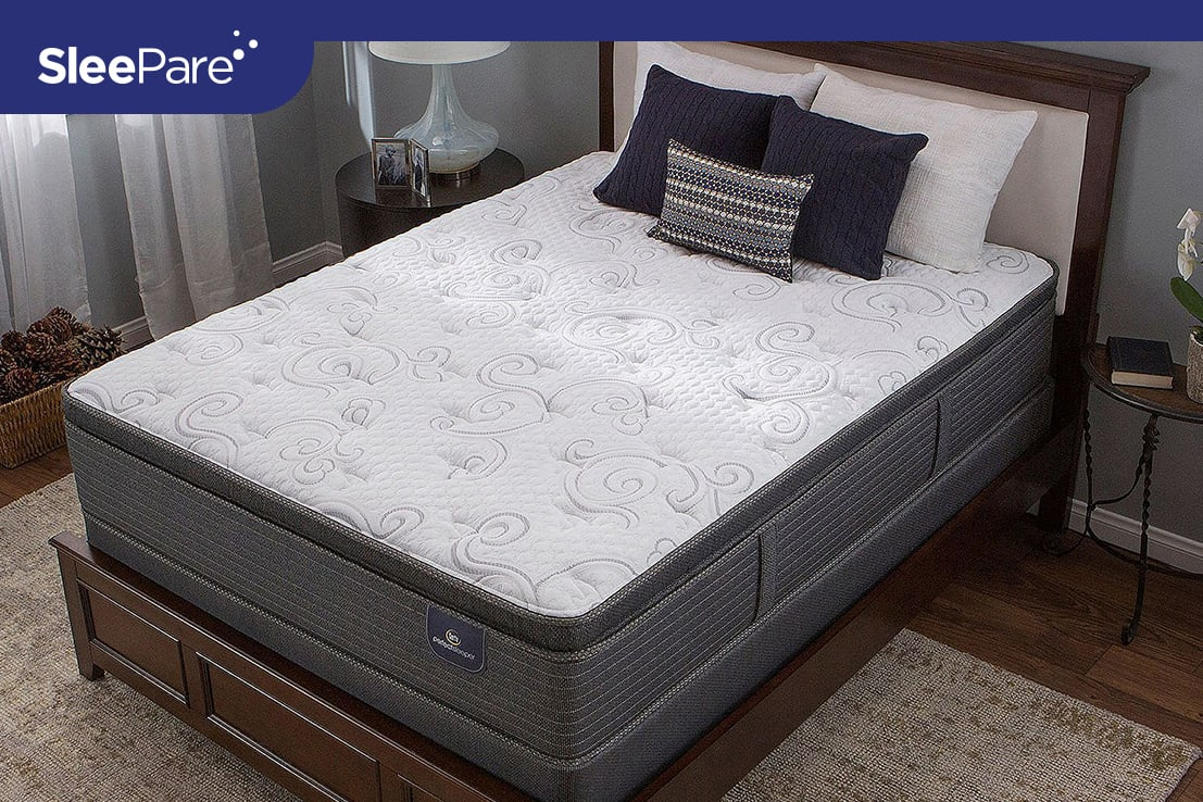 Serta Hillgateii Cushion Firm Pillow Mattress Review