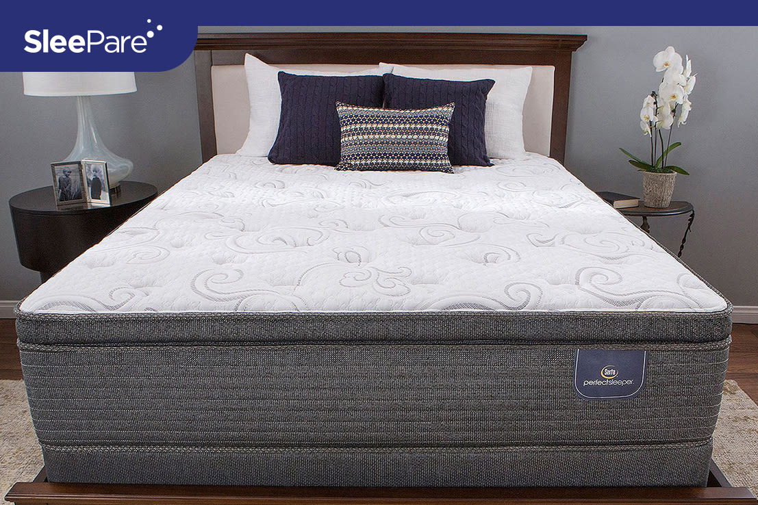 Serta PS Hillgate II Cushion Firm Super Pillow Top