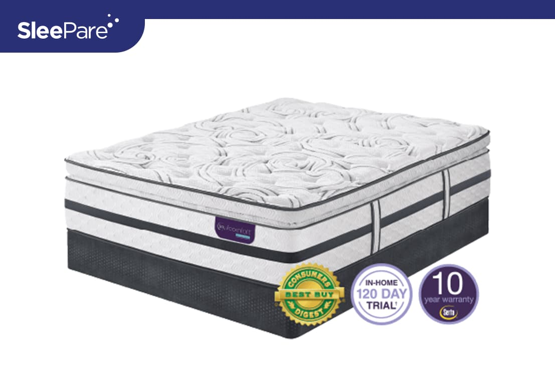 Serta iComfort Hybrid Merit II Super Pillow Top