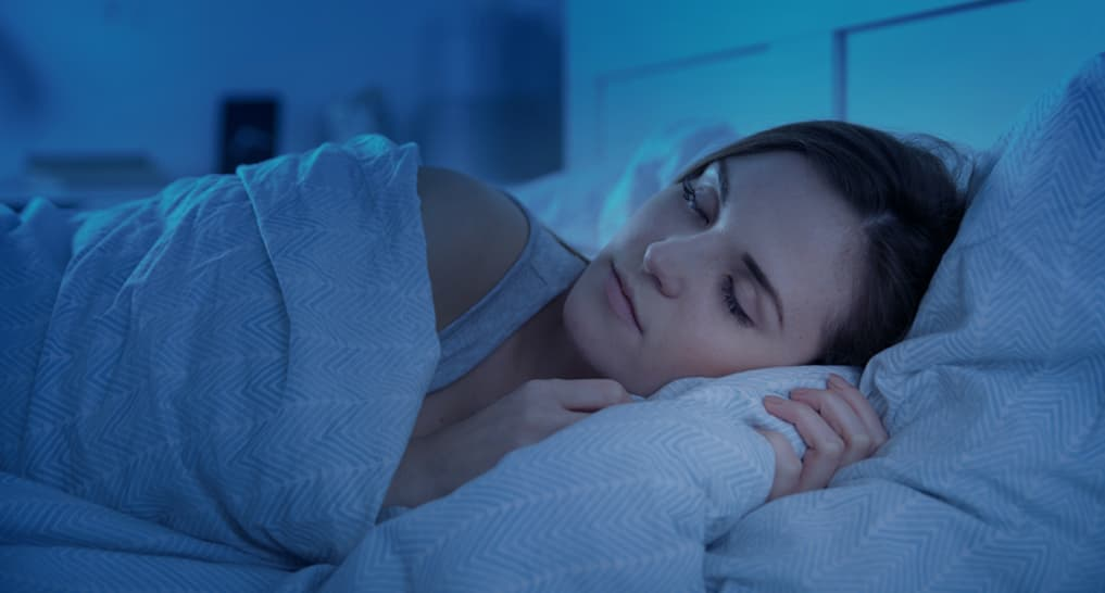 Dark room is essential for sleep hygiene