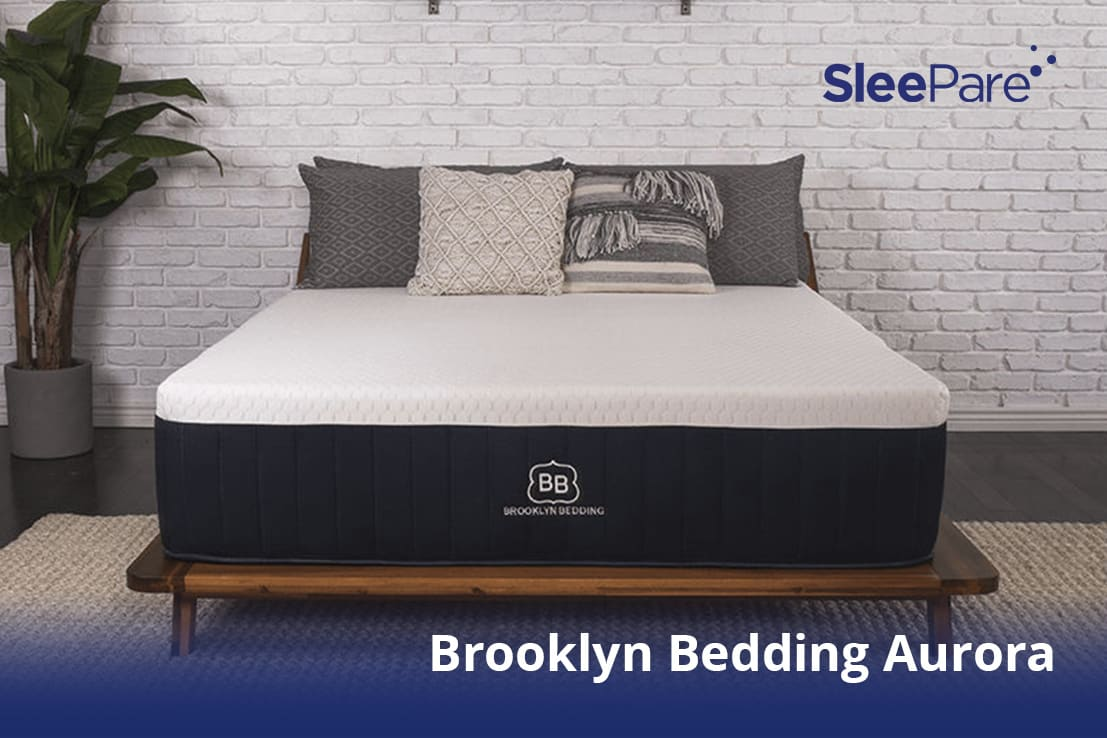 A Brooklyn Bedding Aurora shown in the picture