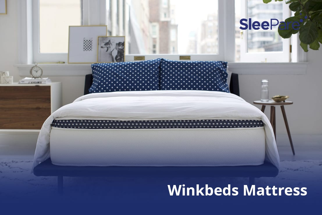 Durable mattress for years of sex, Winkbed in a room