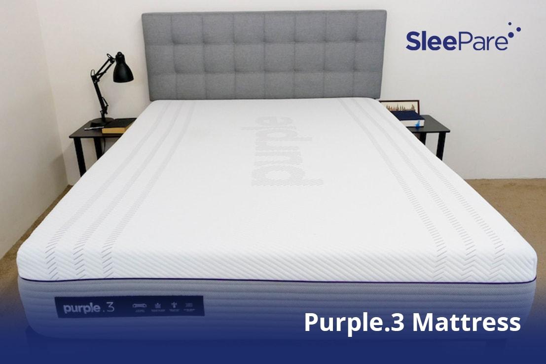 A Purple.3 Mattress, best for multiple sex positions