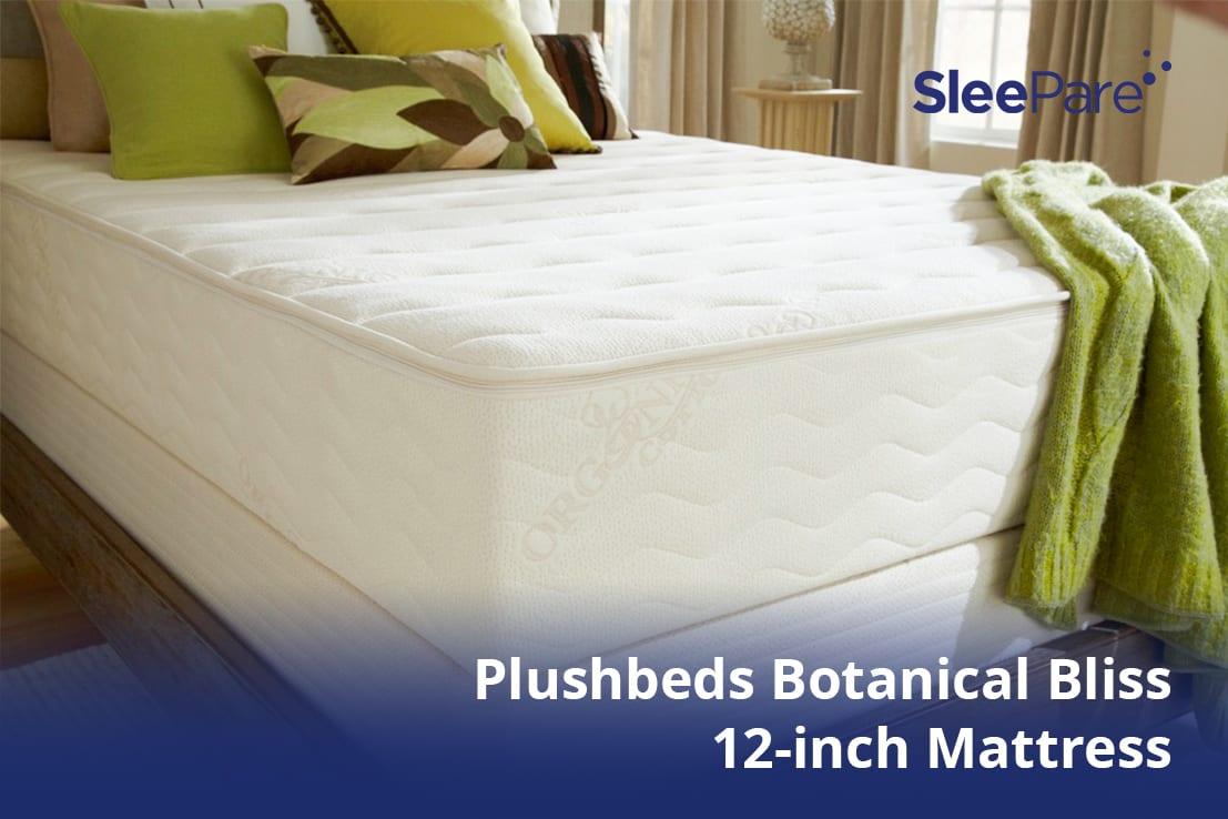 Natural and organic mattress, Plushbeds Botanical Bliss