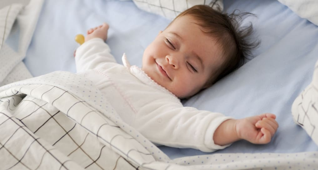 Babies experience less stress with white noise