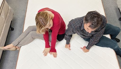 How to Test a Mattress in Store