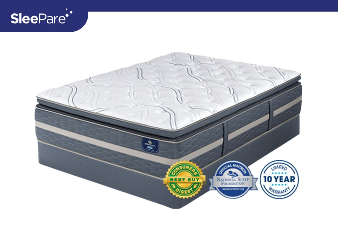 Serta Perfect Sleeper Luxury Hybrid Elmridge Super Pillow Top