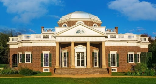 Jefferson's Monticello Amid Struggle for Social Equity