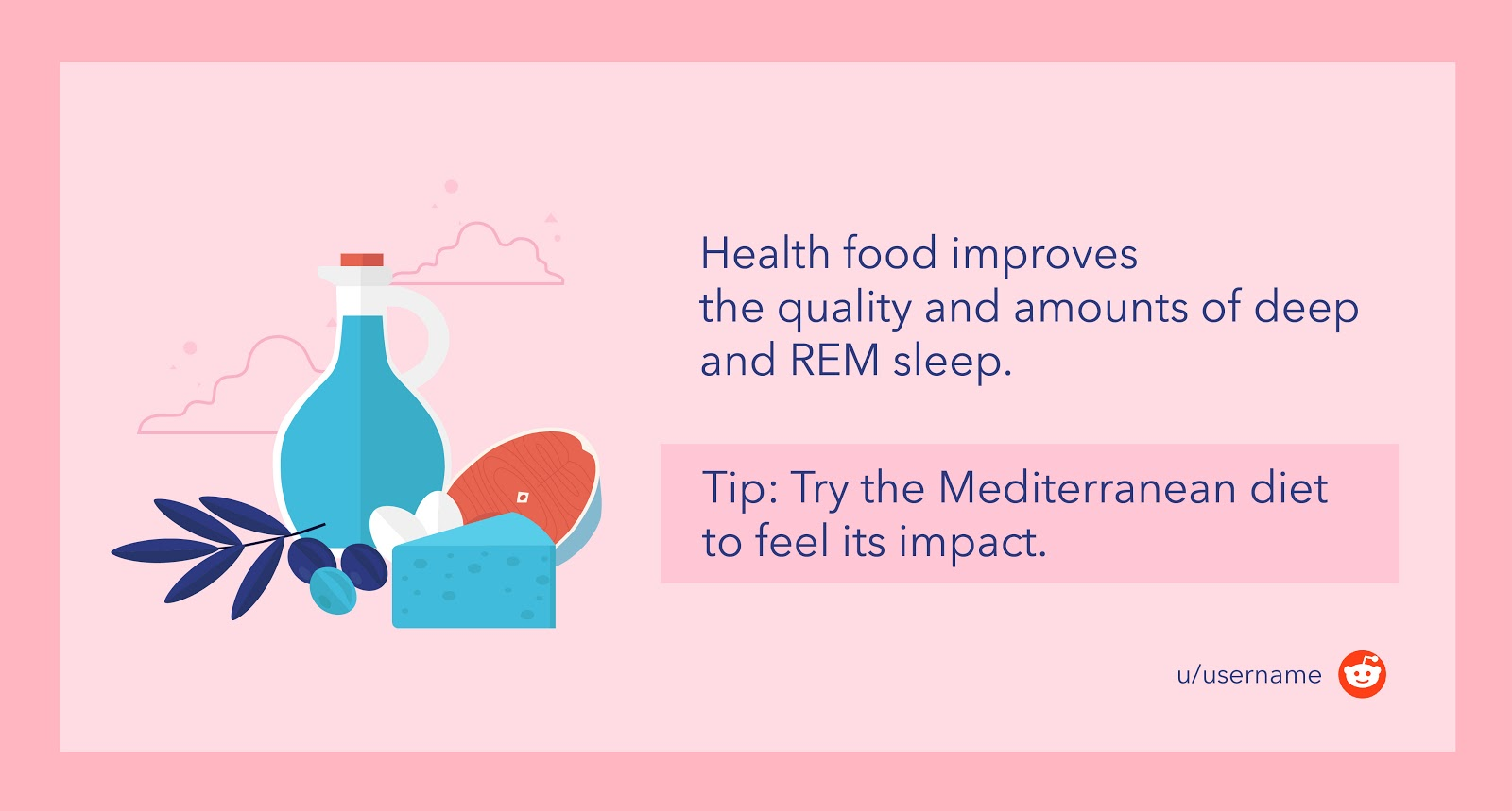 Try the Mediterranean diet to feel its impact
