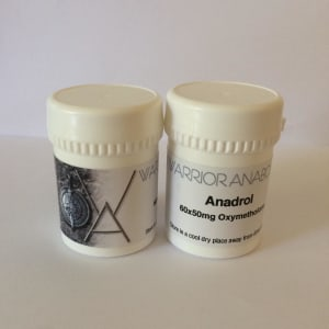 Warrior Anabolic Anadrol 60 x 50mg