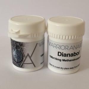 Warrior Anabolics Dianabol