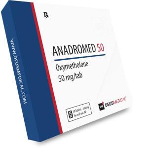 Deus Medical Anadromed 50 50 Tabs X 50Mg