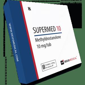 Deus Medical Supermed 10 50 Tabs X 10Mg