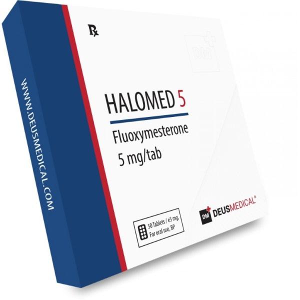 Deus Medical Halomed 5 50 Tabs X 5Mg