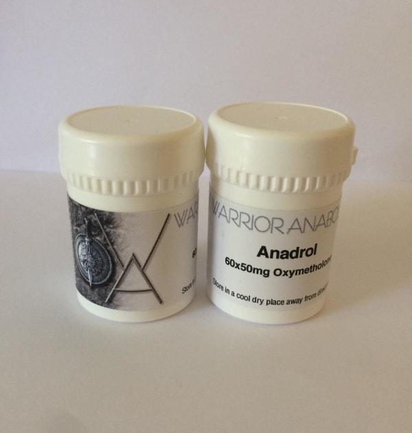 Warrior Anabolic Anadrol 60 x 50mg