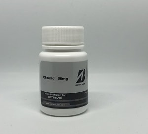 BioTeq Labs PCT RANGE – Clomid (Clomiphene Citrate) 25mg Tablets