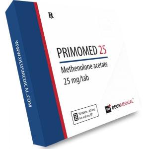 Deus Medical Primomed 25 50 Tabs X 25Mg