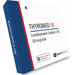 Deus Medical Thyromed 50 (T4) 50 Tabs X 50Mcg