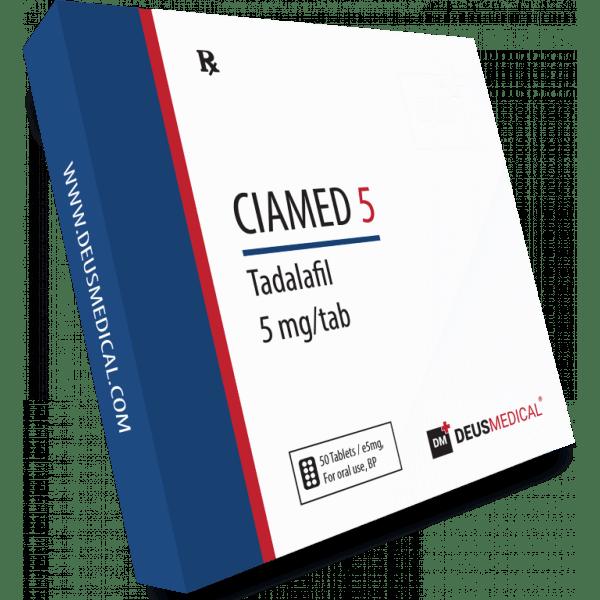Deus Medical Ciamed 5 50 Tabs X 5Mg