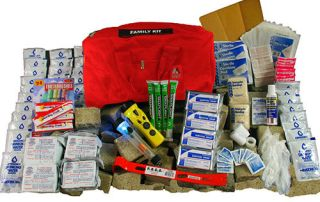 Family Emergency Kit for the home