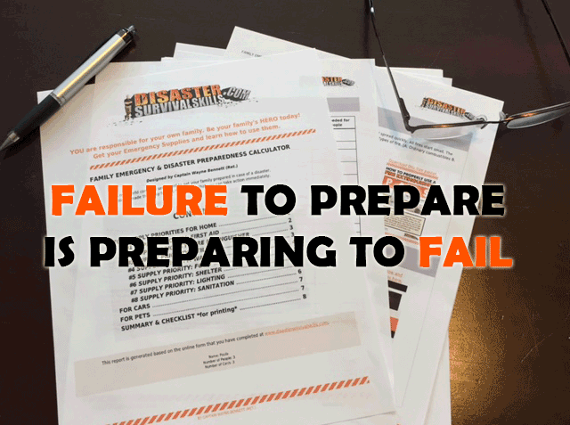 failure to prepare disaster vpyhlp