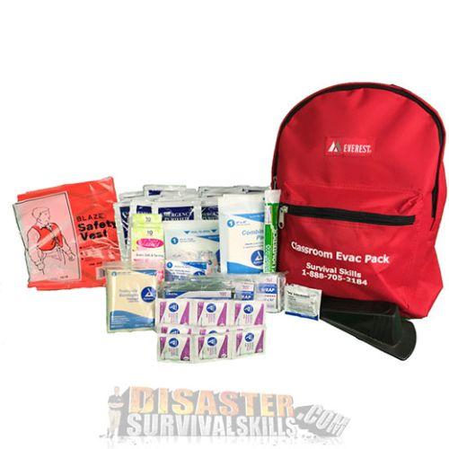 Classroom Emergency Backpack