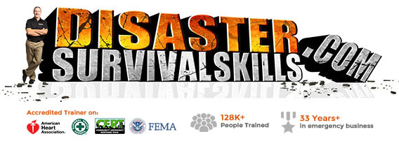 Disaster Survival Skills Retina Logo