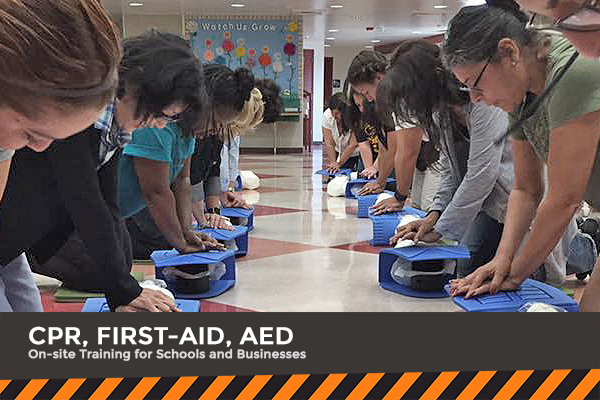CPR, First Aid, AED