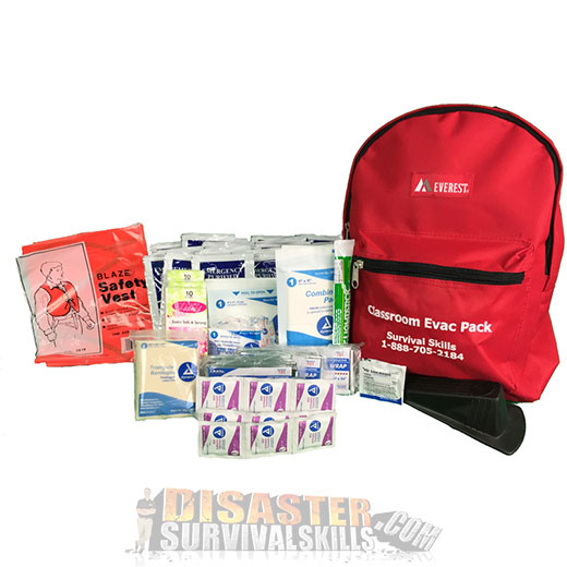 Classroom Emergency Backpack