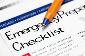 Disaster Preparedness Checklist For Home