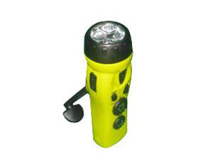 Dynamo Crank Radio Flashlight xihkyu