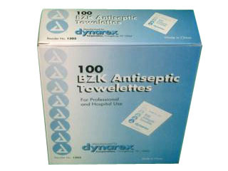 Antiseptic Wipe Box