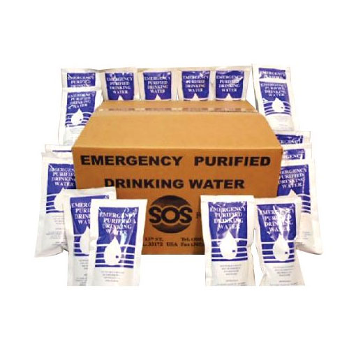 Emergency Drinking Water Pouches asteue