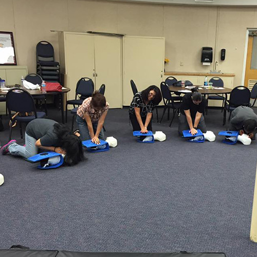 CPR Training for School 3