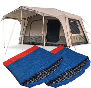 Family Tent and Bag